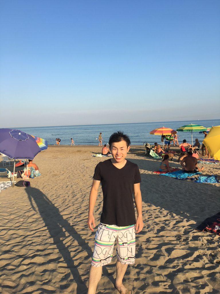 ベネチアビーチの思い出